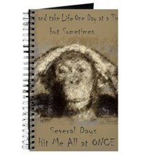 Chimp One Day at a Time Journal