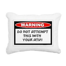 TRY Rectangular Canvas Pillow