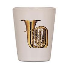 tuba-2 Shot Glass