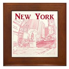 NewYork_10x10_DuffySquare_Red Framed Tile