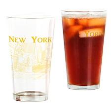 NewYork_10x10_DuffySquare_Yellow Drinking Glass