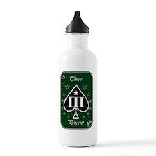 Ace - III - Green Whit Water Bottle
