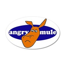angry mule Wall Decal