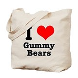 I Heart (Love) Gummy Bears Tote Bag
