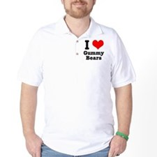 I Heart (Love) Gummy Bears T-Shirt