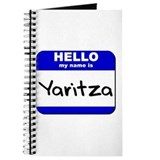 hello my name is yaritza Journal