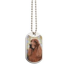 Irish Setter by Dawn Secord Dog Tags