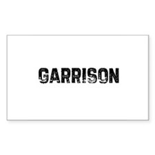 Garrison Rectangle Decal