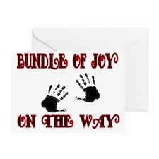 Bundle of joy on the Way Greeting Card