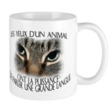 Les yeux d'un animal... Tasse (2-sided)