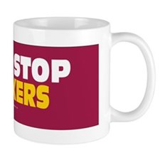Guns Stop Stalkers Sticker Mug