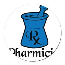 Pharmicist Round Car Magnet