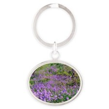 Wildflowers 11X15 Oval Keychain