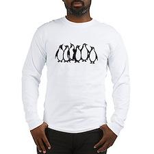 6 Penguins Long Sleeve T-Shirt