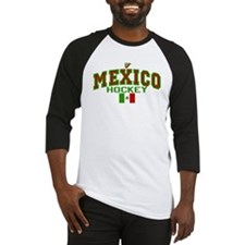 MX Mexico Hockey Baseball Jersey