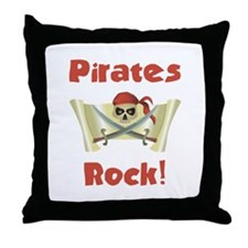 Pirate Birthday Throw Pillow