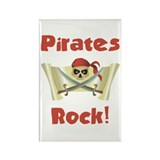 Pirate Birthday Rectangle Magnet (10 pack)