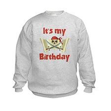 Pirate Birthday Sweatshirt