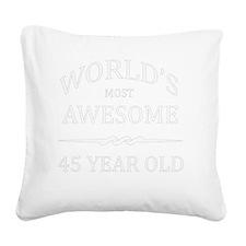 45 Square Canvas Pillow