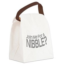 Nibble Vampire Teeth Canvas Lunch Bag