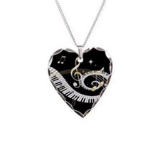 musical notes 45 Necklace
