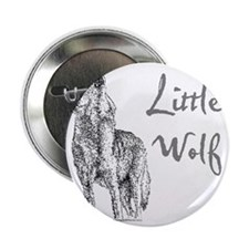 "Little Wolf 2.25"" Button"