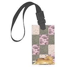 Sleepy Bunny Journal Luggage Tag