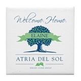 Atria Welcome Elaine Tile Coaster