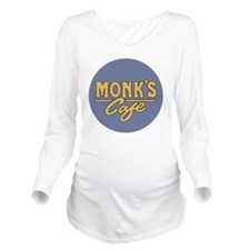Monks Cafe - as seen Long Sleeve Maternity T-Shirt