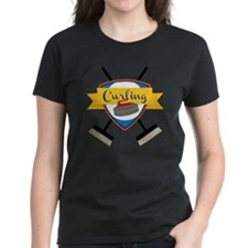 Curling Logo Tee
