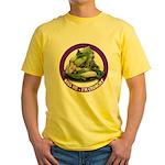 Kiss Me I'm Crunchy Yellow T-Shirt