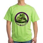 Kiss Me I'm Crunchy Green T-Shirt