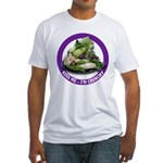 Kiss Me I'm Crunchy Fitted T-Shirt
