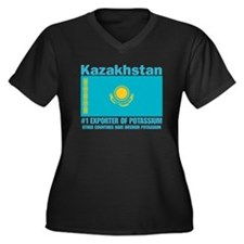 #1 Exporter of Potassium Women's Plus Size V-Neck