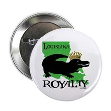 "Louisiana Royalty 2.25"" Button (10 pack)"