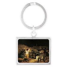 Francisco de Goya The Third Of  Landscape Keychain