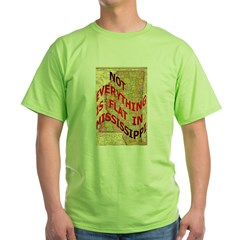 Flat Mississippi Green T-Shirt