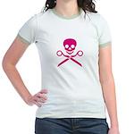HTPNK Jolly Holly Jr. Ringer T-Shirt