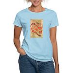 Flat Alabama Women's Light T-Shirt