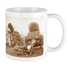 Old Wild West Oregon Trail Coffee Mug