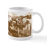 Old Wild West Prospector Donkey Coffee Mug
