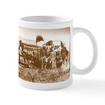 Old Wild West Settlers Pioneers Coffee Mug