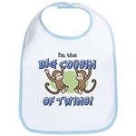 Big Cousin of Twins (Monkey) Bib