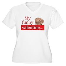my funny lab valentine T-Shirt