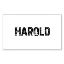 Harold Rectangle Decal