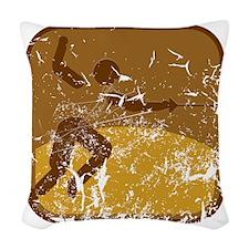 Fechten (used) Woven Throw Pillow