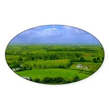 Ireland Green Pastures Photo Decal