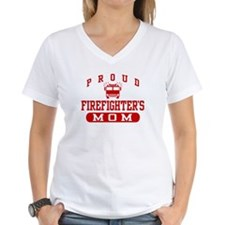 Proud Firefighter's Mom Shirt