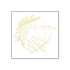 "Microbiology Square Sticker 3"" x 3"""