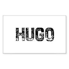 Hugo Rectangle Decal